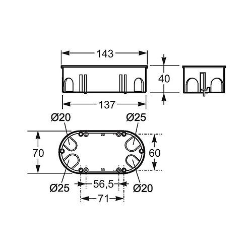 dimensiones-caja-empotrar-famatel-3256