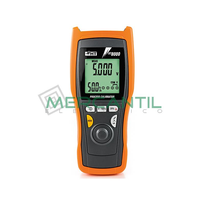 Calibrador de Procesos 4-20 mA HT8000 HT INSTRUMENTS