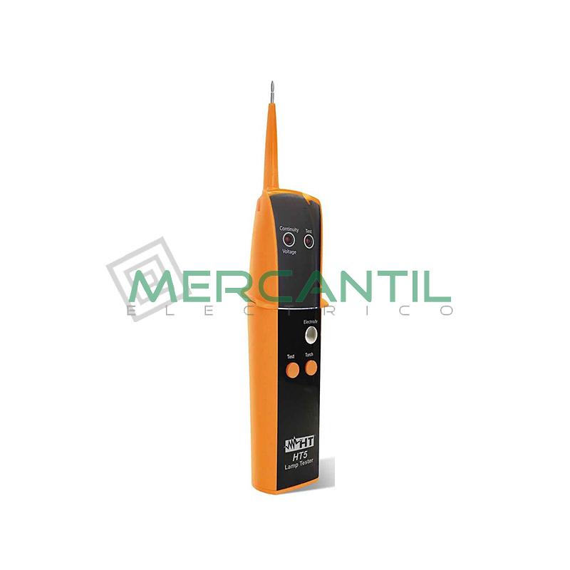 Comprobador de Lamparas de Gas y Detector de Tension HT5 HT INSTRUMENTS