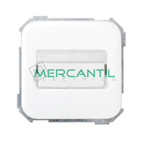 Conmutador con Porta-Rotulos con Luminoso Incorporado SIMON 31
