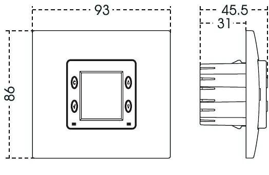 Cronotermostato digital para calefaccion o aire for Cronotermostato orbis