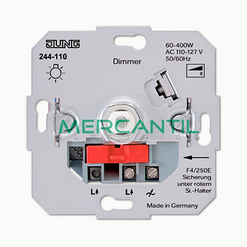 Dimmer 110V para Incandescencia 60-400W LS990 JUNG
