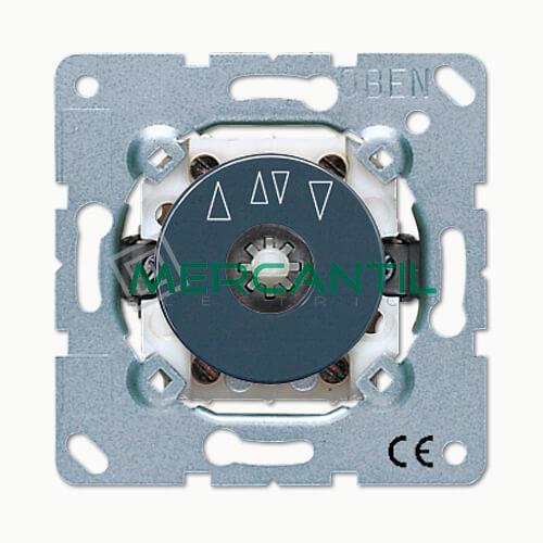 Interruptor Bipolar Giratorio para Persianas 16AX LS990 JUNG