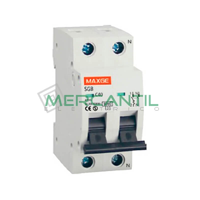 Interruptor magnetotermico 1p n 25a sgbe6k residencial - Interruptor magnetotermico precio ...