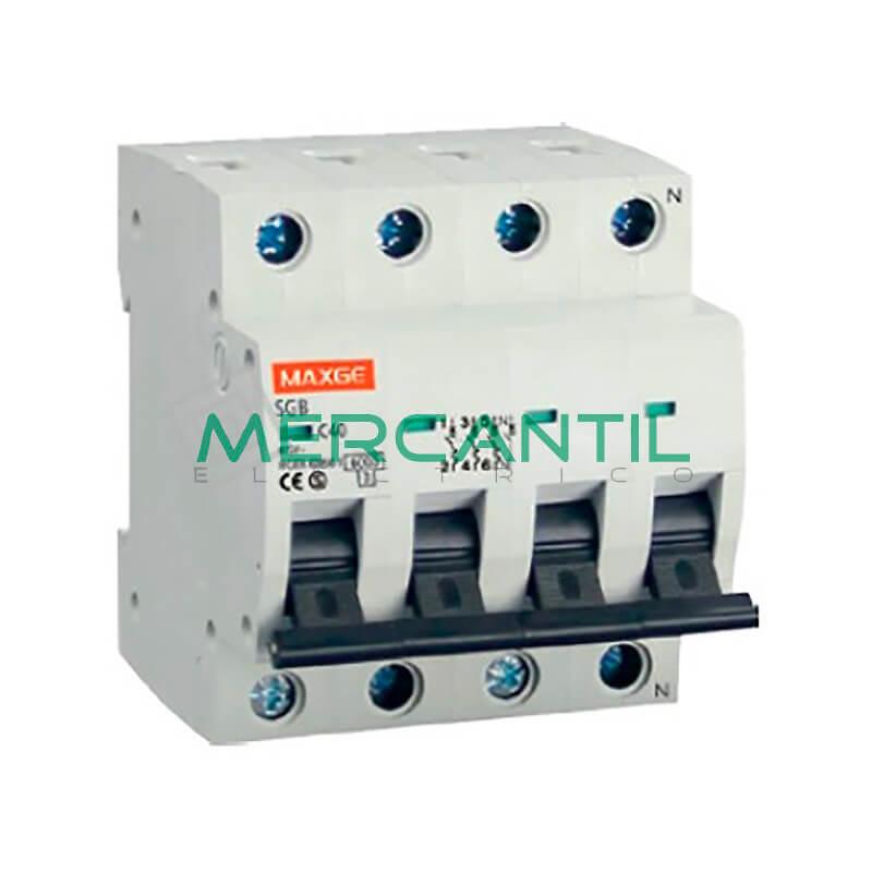 Interruptor magnetotermico 4p 1a sgb6k industrial - Interruptor magnetotermico precio ...