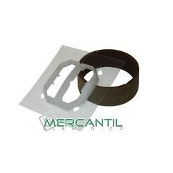 Kit IP44 Para MEC 21 - Teclas Dobles LOGUS 90 EFAPEL
