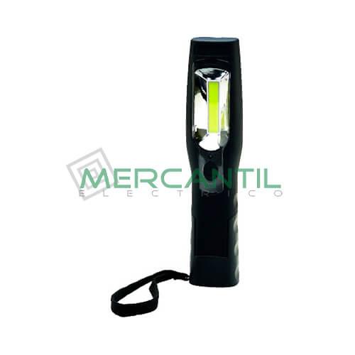 Linterna Portatil LED Recargable BIZLINE