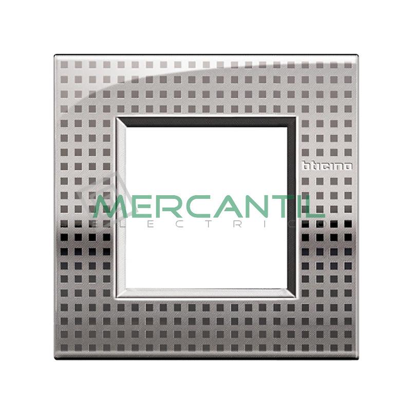 Marco Cuadrado Universal Living Light Air BTICINO - Color Net