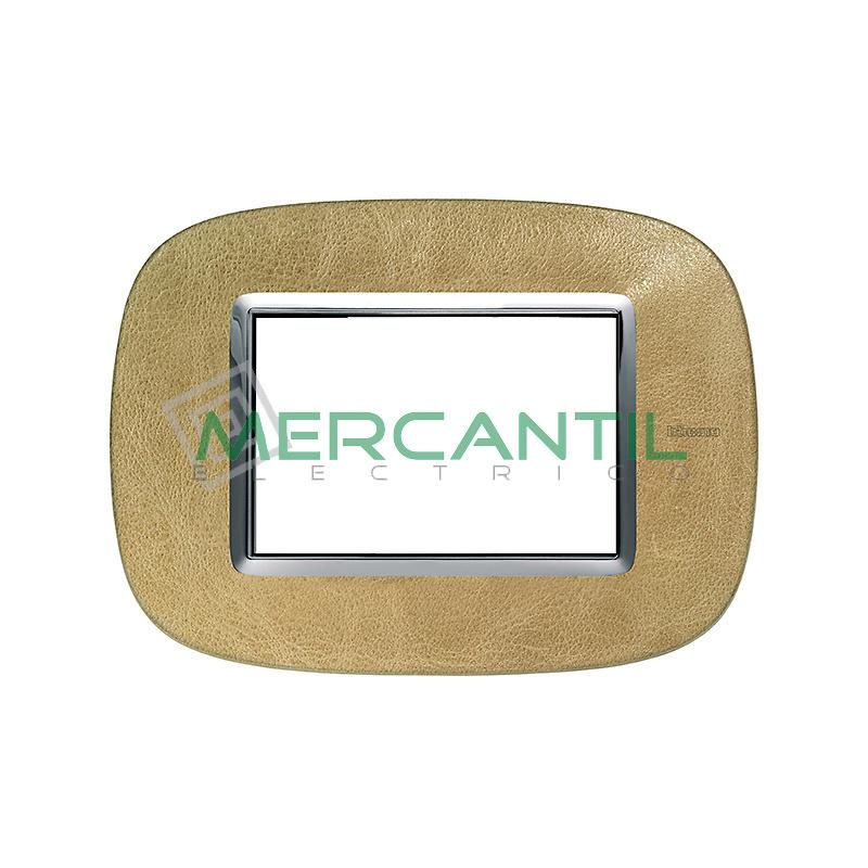 Marco Eliptico Rectangular Axolute BTICINO - Color Piel Arena