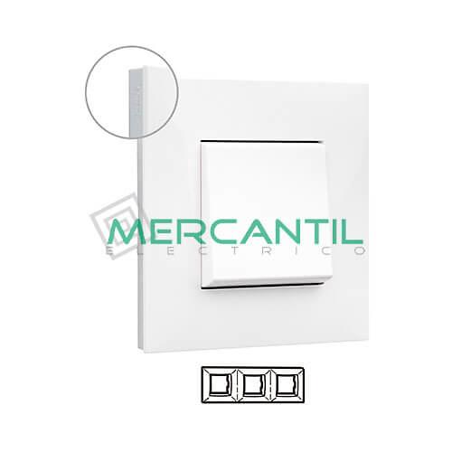 marco-embellecedor-3e-blanco-cromo-valena-next-legrand-741013