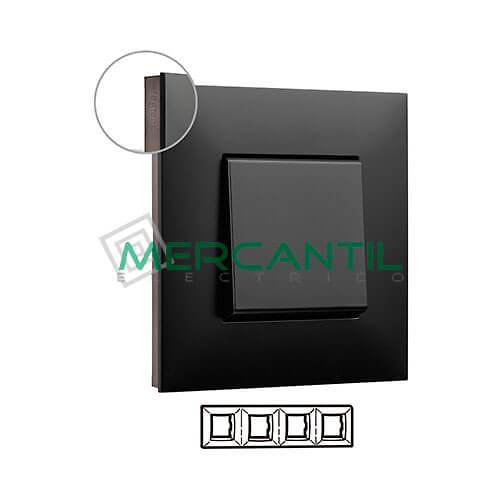 marco-embellecedor-4e-dark-cromo-oscuro-valena-next-legrand-741064