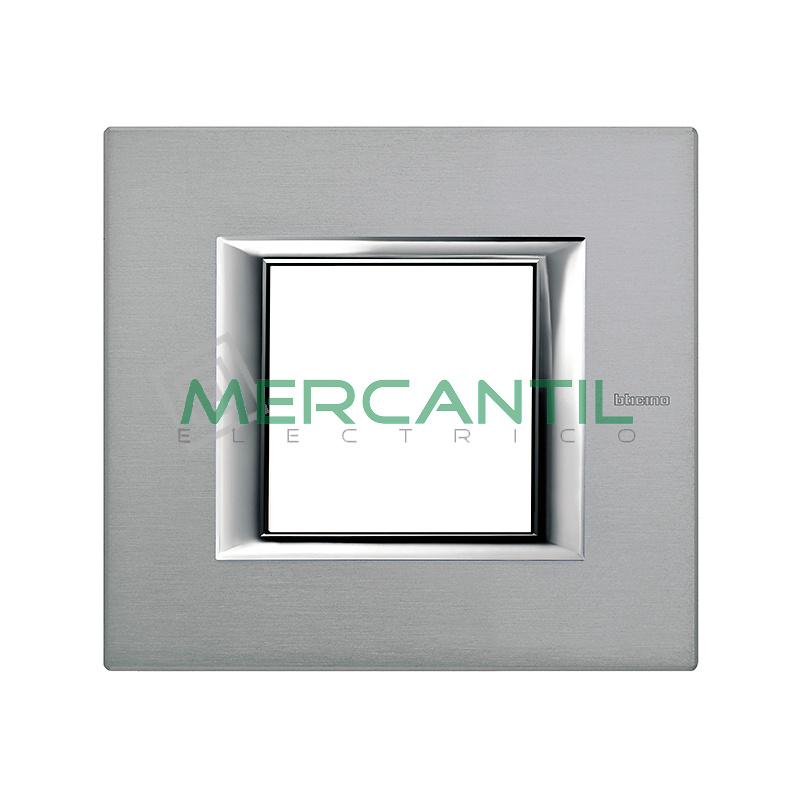 Marco Rectilíneo Universal Axolute BTICINO - Color Mercurio