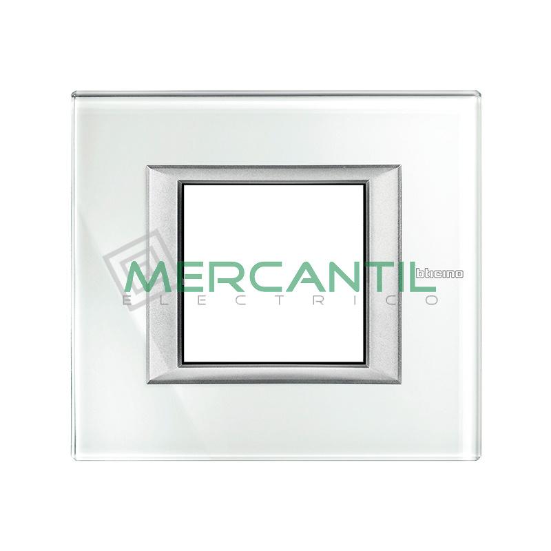 Marco Rectilíneo Universal Axolute BTICINO - Color Whice