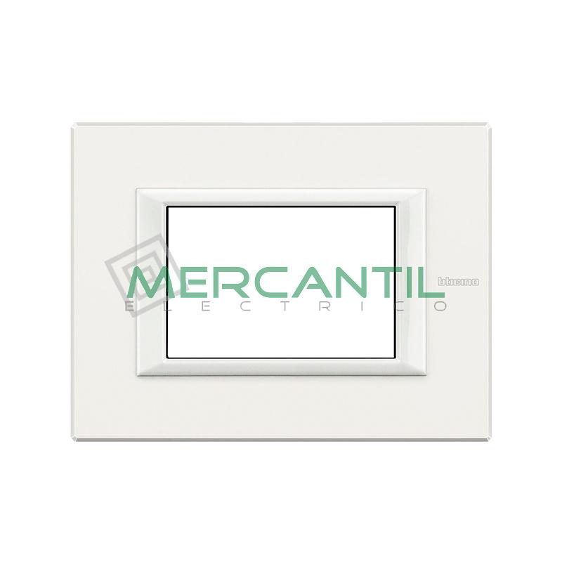 Marco Rectilineo Rectangular Axolute BTICINO - Color Blanco AXOLUTE