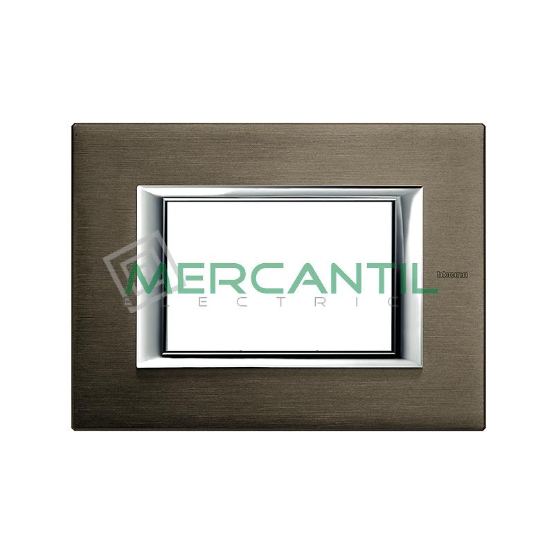 Marco Rectilineo Rectangular Axolute BTICINO - Color Bronce