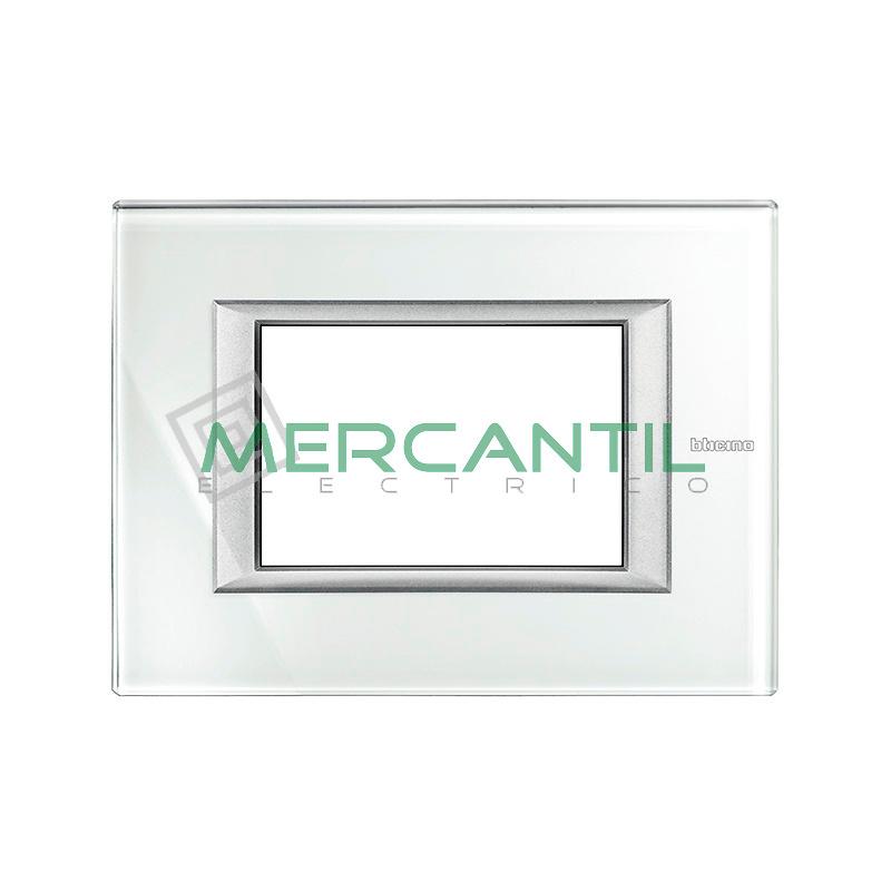Marco Rectilineo Rectangular Axolute BTICINO - Color Whice