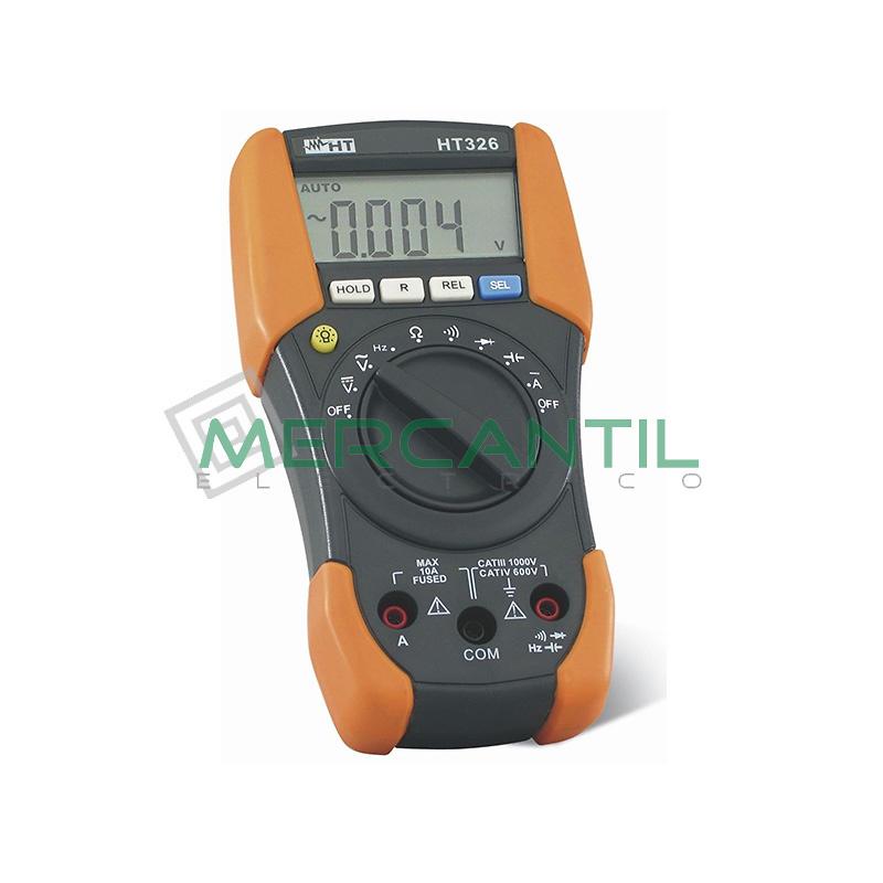 Multimetro Digital Profesional CAT IV HT326 HT INSTRUMENTS