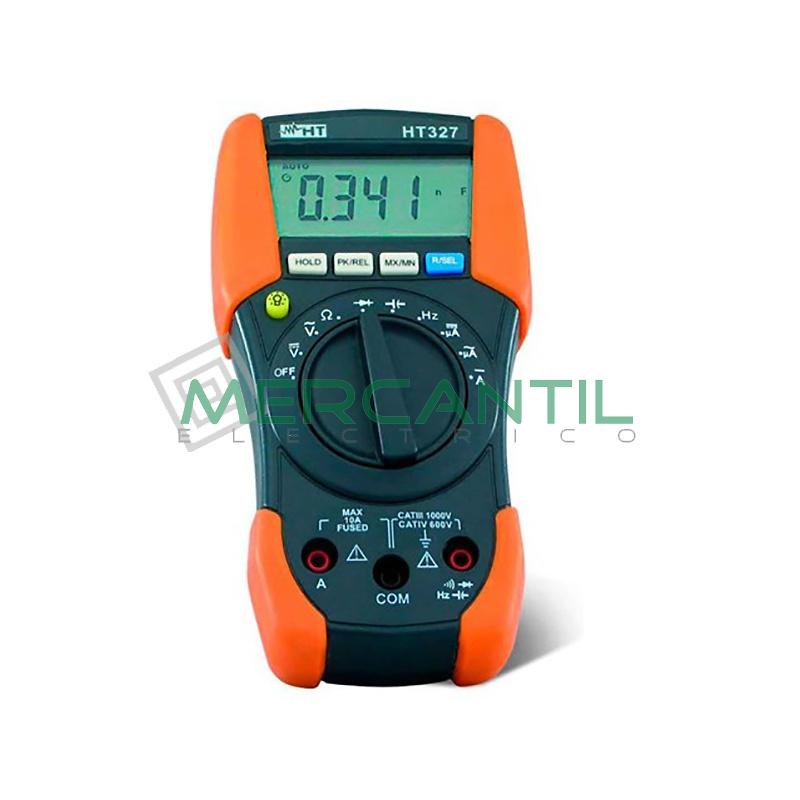 Multimetro Digital Profesional CAT IV HT327TRMS HT INSTRUMENTS
