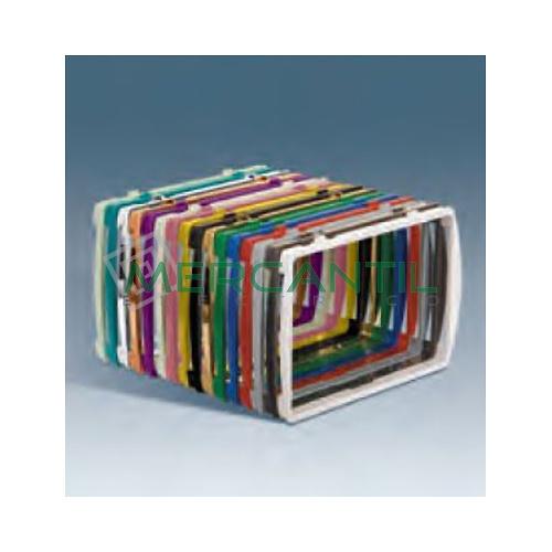 Piezas Intermedias para Placas Caja Americana Varios Colores SIMON 27