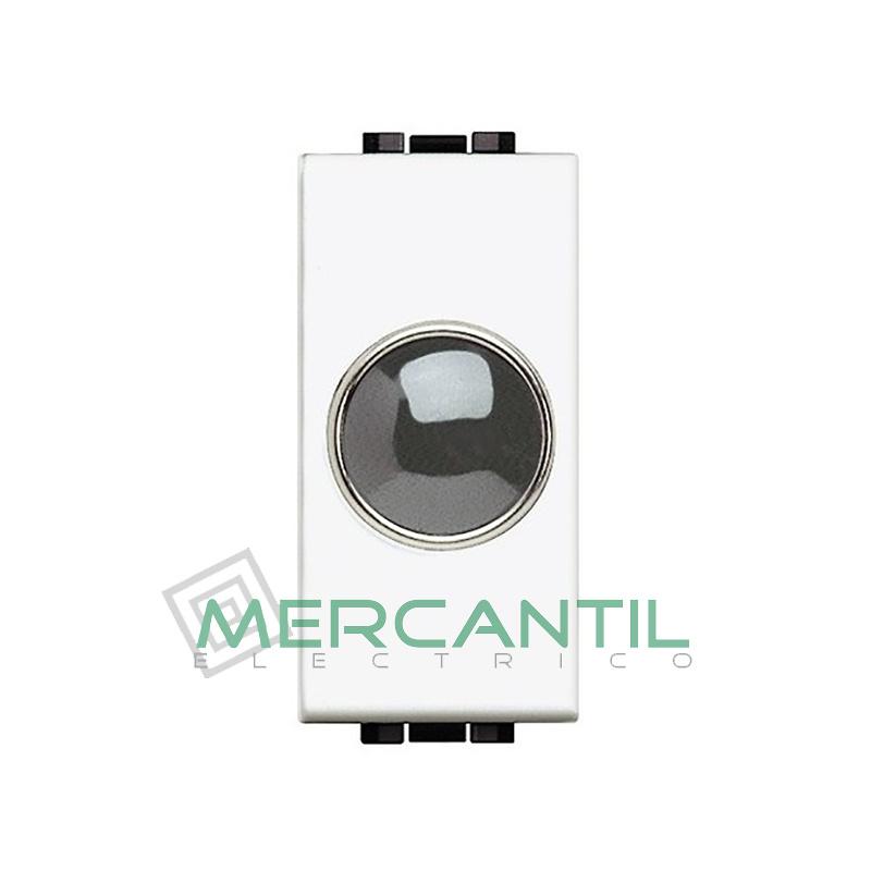 Portalamparas con Difusor 1 Modulo Living Light BTICINO - Color Transparente