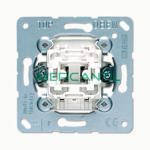 Pulsador Unipolar con Contacto Indicacion LS990 JUNG