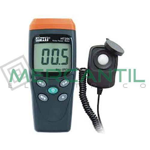 Solarimetro Digital Portatil HT204 HT INSTRUMENTS