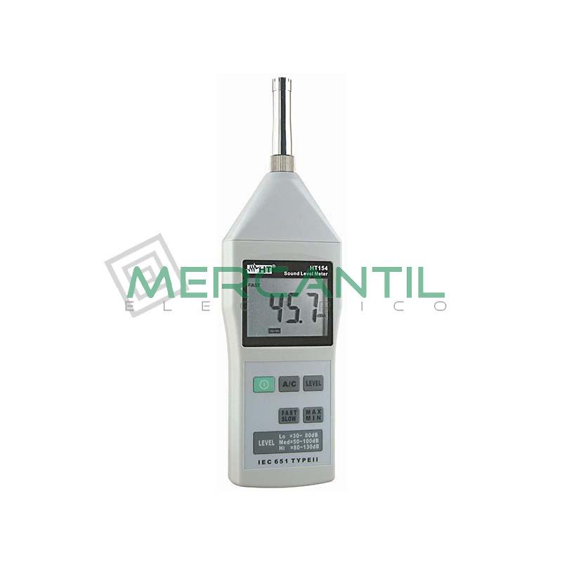 Sonometro Profesional con Verificacion Primitiva SC102 HT INSTRUMENTS