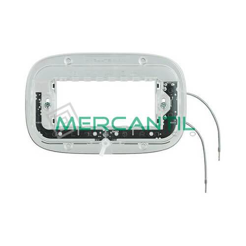 Soporte Luminosos para Placas Elipticas 4 Modulos Axolute BTICINO - 2.5mA/0.3W/230V