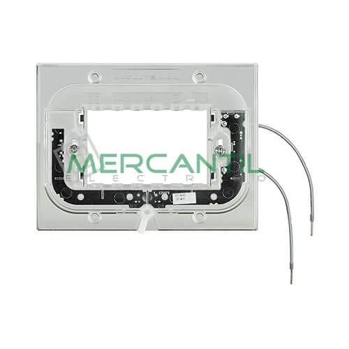 Soporte Luminosos para Placas Rectilineas 3 Modulos Axolute BTICINO - 2.5mA/0.3W/230V