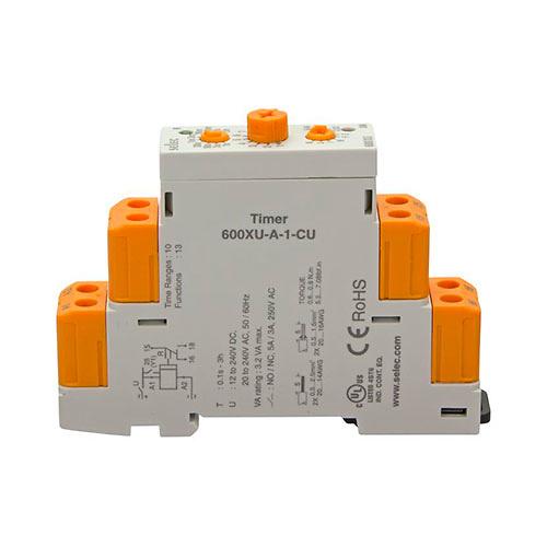 Temporizador modular 13 funciones 1NO 0.1s a 3h RETELEC