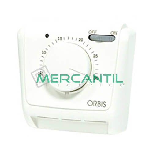 Termostato analogico con salida conmutada on off piloto for Termostato analogico calefaccion