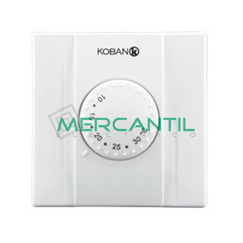Termostato analogico para calefaccion kt0 np basic koban for Precio termostato calefaccion