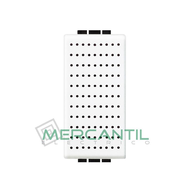 Timbre Bronce 230V 1 Modulo Living Light BTICINO