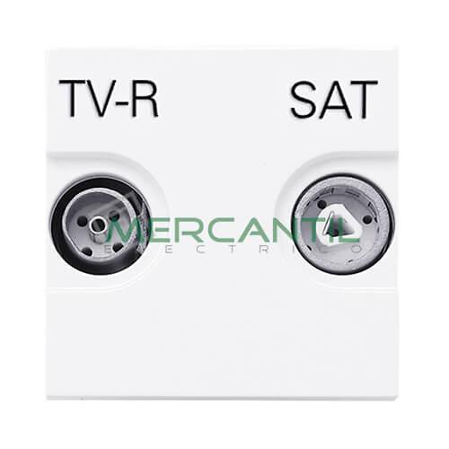 toma-television-unica-tv-r-sat-2-modulos-blanco-zenit-niessen-n2251.3-bl