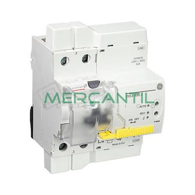 Diferencial rearmable telerec2 2p 40a general electric for Diferencial general electric