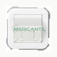 Adaptador Inclinado Informatico AMP/SYSTIMAX para UTP/FTP/Telefono 1 Conector SIMON 31