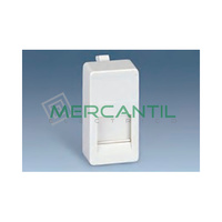 Adaptador Informatico Estrecho SYSTIMAX UTP SIMON 27 Play - 1 Conector