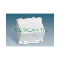 Adaptador Informatico Inclinado AMP/SYSTIMAX UTP/FTP/Telefono SIMON 27 Play - 1 Conector