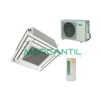 Aire Acondicionado Cassette 2.5kW Sky Air FQS35C DAIKIN