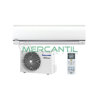 Aire Acondicionado Inverter de Pared UE 5.0 kW Serie Tactica PANASONIC