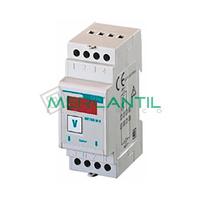 Amperimetro Digital DIN 4000/5A DC METRA M-A xA ORBIS