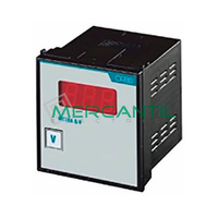 Amperimetro Digital Trascuadro 4000/5A DC METRA Q-A xA ORBIS