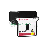 Analizador de Consumo Monofasico 1P+N Wi-Beee CIRCUTOR - Neutro Derecho