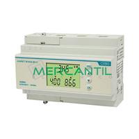 Analizador de Red Trifasico Rain DIN y RS485 90A ANRET M-90A-BUS ORBIS