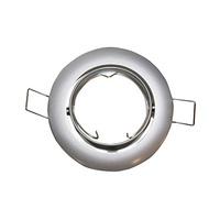 Aro basculante redondo empotrable GU10 Max.50W para bombillas dicroicas oro viejo GSC