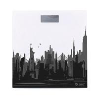 Bascula de baño 4 sensores de alta precision pantalla LCD New York GSC