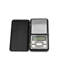 Bascula de precision digital de bolsillo calibrado automatico pantalla LCD GSC