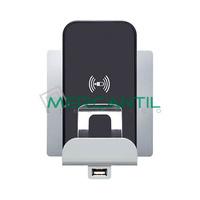 Base Cargador por Induccion y USB para Movil 2 Modulos Niloe LEGRAND
