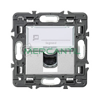 Base Informatica RJ45 UTP Categoria 6 Valena Next LEGRAND - Color Aluminio