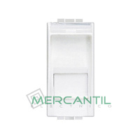Base RJ45 FTP Categoria 5E 1 Modulo Living Light BTICINO